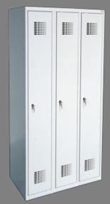 Метален гардероб Sum 330w с 3 врати