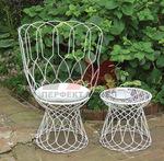 Столове ковано желязо за тераса