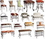 Столове ковано желязо цени