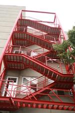 изработване на противопожарно стълбище
