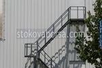 метални противопожарни стълбища