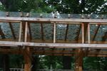 изработване на навеси от дървен материал и поликарбонат