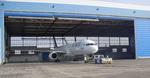 метален хангар за самолети